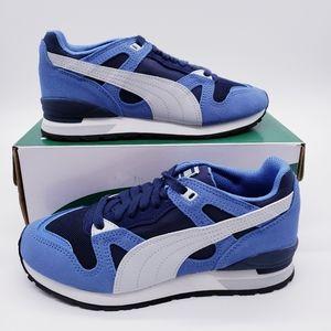 Puma Blue Yonder Peacoat Gray Running Shoe…